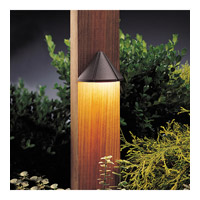 Kichler Lighting Six Groove 1 Light Landscape 12V Deck in Textured Architectural Bronze 15065AZT