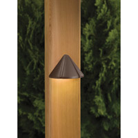 Kichler Lighting Cast Brass 1 Light Landscape 12V Deck in Bronzed Brass 15065BBR photo thumbnail