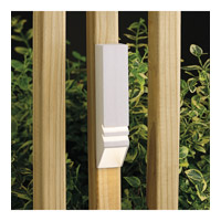 Kichler Lighting Outdoor Low Volt 1 Light Landscape 12V Deck in Textured White 15066WHT