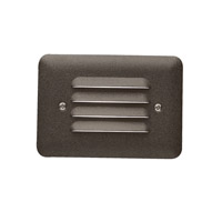 Kichler 15072AZT Landscape 12V 12V 11.6 watt Textured Architectural Bronze Deck Light, 5 inch