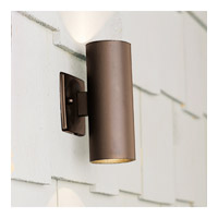 Kichler Lighting Outdoor Low Volt 2 Light Landscape 12V Deck in Textured Architectural Bronze 15079AZT