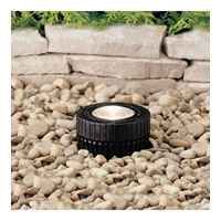 Kichler Lighting Outdoor Low Volt 1 Light Landscape 12V In-Ground in Black 15190BK