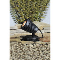 Kichler Lighting Underwater 1 Light Landscape 12V Water in Black Material 15191BK