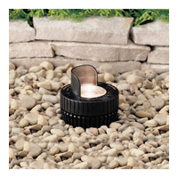 Kichler Lighting Outdoor Low Volt 1 Light Landscape 12V In-Ground in Black Material 15192BK