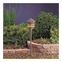 Kichler 15205AZT Six Groove 120V 75 watt Textured Architectural Bronze Landscape 120V Path & Spread