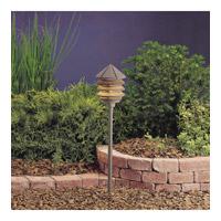 Kichler 15205AZT Six Groove 120V 75 watt Textured Architectural Bronze Landscape 120V Path & Spread