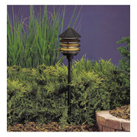 Kichler 15205BKT Six Groove 120V 75 watt Textured Black Landscape 120V Path & Spread