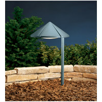 Kichler Lighting Six Groove 1 Light Landscape 120V Path & Spread in Textured Midnight Spruce 15222MST photo thumbnail