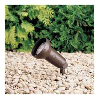 Kichler 15230AZT HID High Intensity Discharge 120V 50 watt Textured Architectural Bronze Landscape 120V Accent photo thumbnail