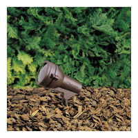 Kichler Lighting HID High Intensity Discharge 1 Light Landscape 120V Accent in Textured Architectural Bronze 15231AZT