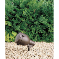 Kichler Lighting HID High Intensity Discharge 1 Light Landscape 120V Accent in Textured Architectural Bronze 15241AZT
