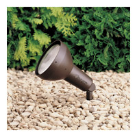 Kichler 15250AZT HID High Intensity Discharge 120V 100 watt Textured Architectural Bronze Landscape 120V Accent photo thumbnail