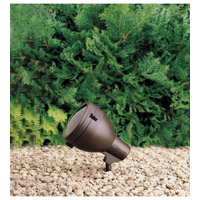 Kichler Lighting HID High Intensity Discharge 1 Light Landscape 120V Accent in Textured Architectural Bronze 15251AZT