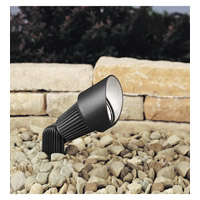 Kichler Lighting Accent 1-Lt 12V Landscape 12V Accent in Textured Black 15309BKT