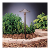 Kichler Lighting Outdoor Low Volt 1 Light Landscape 12V Path & Spread in Textured Architectural Bronze 15310AZT6