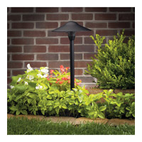 Kichler Lighting Outdoor Low Volt 1 Light Landscape 12V Path & Spread in Textured Black 15310BKT photo thumbnail