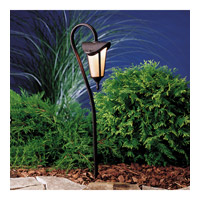 Kichler Lighting Lafayette 1 Light Landscape 12V Path & Spread in Tannery Bronze w/ Gold Accent 15313TZG