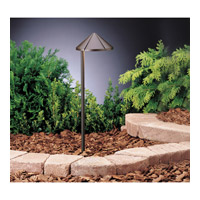 Kichler 15315AZT Six Groove 12V 24.4 watt Textured Architectural Bronze Landscape 12V Path & Spread in Single photo thumbnail