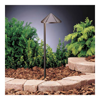 Kichler Lighting Six Groove 1 Light Landscape 12V Path & Spread in Textured Architectural Bronze 15315AZT6