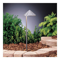 Kichler Lighting Six Groove 1 Lt Landscape 12V Path & Spread in Textured Midnight Spruce 15315MST photo thumbnail