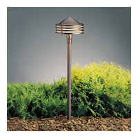 Kichler Lighting Outdoor Low Volt 1 Light Landscape 12V Path & Spread in Textured Architectural Bronze 15318AZT