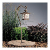 Kichler Lighting Mission 1 Light Landscape 12V Path & Spread in Patina Bronze 15319PZ photo thumbnail