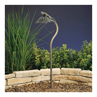 Kichler Lighting Leaf 1 Light Landscape 12V Path & Spread in Patina Bronze 15325PZ photo thumbnail
