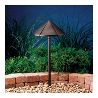 Kichler Lighting Six Groove 1 Light Landscape 12V Path & Spread in Textured Architectural Bronze 15328AZT
