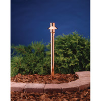 Kichler Lighting Copper 1 Light Landscape 12V Path & Spread in Copper 15357CO photo thumbnail