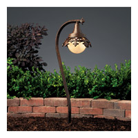 Kichler Lighting Vintage Park 1 Light Landscape 12V Path & Spread in Textured Tannery Bronze 15369TZT