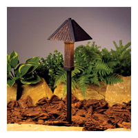 Kichler Lighting Oak Trail 1 Light Landscape 12V Path & Spread in Textured Black 15373BKT photo thumbnail