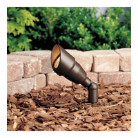 Kichler Lighting Accent 1-Lt 12V w/ Bulb Landscape 12V Accent in Textured Architectural Bronze 15374AZT20L24