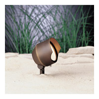 Kichler Lighting Accent 1-Lt 12V Landscape 12V Accent in Bronzed Brass 15381BBR photo thumbnail