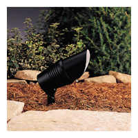 Kichler 15382BK Landscape 12V 12V 35 watt Black Landscape Accent Light in Single