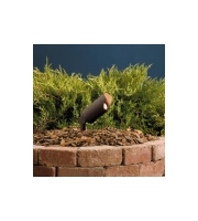Kichler Lighting Accent 1-Lt 12V w/ Bulb Landscape 12V Accent in Textured Architectural Bronze 15384AZT20L photo thumbnail