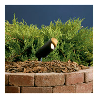 Kichler Lighting Accent 1-Lt 12V Landscape 12V Accent in Textured Black 15384BKT24