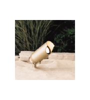 Kichler Lighting Signature Accent Lndscp 12V w/20WFL lamp in Brass (Unfinished) 15384BR20L photo thumbnail