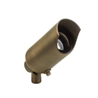 Kichler 15384CBR Signature 12V 50 watt Centennial Brass Landscape Light in Bulb Not Included, Single