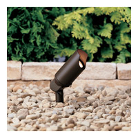 Kichler Lighting Accent 1-Lt 12V Landscape 12V Accent in Textured Architectural Bronze 15398AZT
