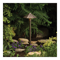 Kichler Lighting Shingle Path Head Landscape 12V Path & Spread in Textured Architectural Bronze 15401AZT