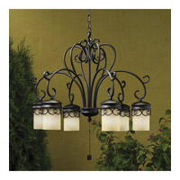 Kichler Lighting Almeria 6 Light Landscape 12V Specialty in Textured Black 15408BKT