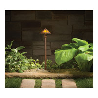Kichler Lighting Outdoor Low Volt 1 Light Landscape 12V Path & Spread in Textured Tannery Bronze 15450TZT
