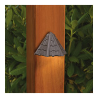 Kichler Lighting Outdoor Low Volt 1 Light Landscape 12V Deck in Textured Architectural Bronze 15461AZT