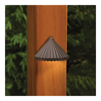 Kichler Lighting Outdoor Low Volt 1 Light Landscape 12V Deck in Textured Architectural Bronze 15468AZT photo thumbnail