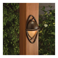 Kichler Lighting Cathedral 1 Light Landscape 12V Deck in Textured Tannery Bronze 15469TZT photo thumbnail