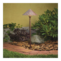 Kichler Lighting Cast Aluminum Hammered Roof Landscape 12V Path & Spread in Textured Tannery Bronze 15471TZT photo thumbnail