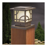 Kichler 15474OZ Larkin Estate 12V 16.3 watt Olde Bronze Landscape 12V Deck, 6.25 inch photo thumbnail