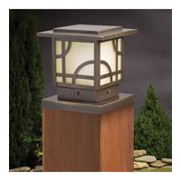Kichler 15474OZ Larkin Estate 12V 16.3 watt Olde Bronze Landscape 12V Deck, 6.25 inch