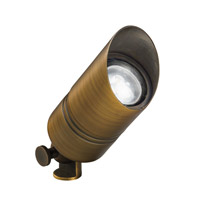 Kichler 15475CBR Signature 12V 35 watt Centennial Brass Landscape Light photo thumbnail