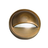Kichler Signature 1 Light Deck Light in Centennial Brass 15477CBR